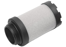 Coalescing replacement filter element for F74C series filters