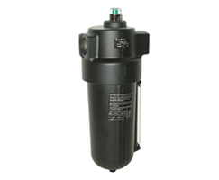 F46 Series oil removal filter with autodrain, 1