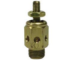 Sintered bronze speed control