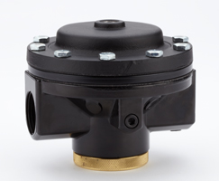 Pilot operated pressure regulators